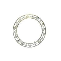 Кованая оправа для зеркала №3 белая (1 шт/упак) оптом