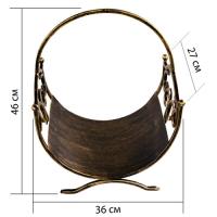 Кованая подставка для дров 2 (дровница) (1 шт/упак)