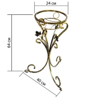 Подставка на один вазон К-118 (1 шт/упак)