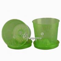 Подставка для горшка Л15 зеленый
