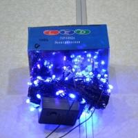 электрическая Гирлянда 100 ЛЕД/ч синяя