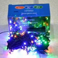 Электрическая Гирлянда 300 ЛЕД цветная