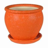 Горшок для цветов Вьетнам №2 шелк Оранж