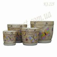 Набор керамических горшков К1.225