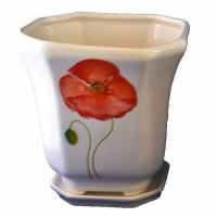 горшок для цветов  р179 «дамочка» 2