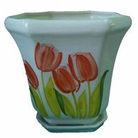 горшок для цветов  р181 «дамочка» 4