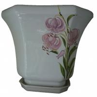 горшок для цветов  р183 «дамочка» 6