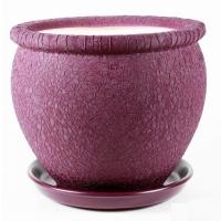 горшок для цветов вьетнам №4 шелк фиолет