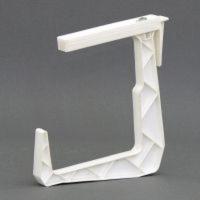 крепление балконное ф белый