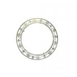 Кованая оправа для зеркала №4 белая (1 шт/упак) оптом