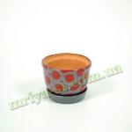 Горшок для цветов Е-№4 тамп. V0,6 (4 шт/упак)