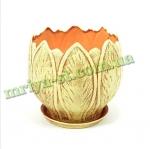 Горшок для цветов Латаття тамп (1 шт/упак) оптом