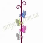 Зажим для орхидей К14.041 Бабочка вел (80 шт/упак)