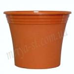 Горшок для цветов Ирис 25 терракота (10 шт/упак) оптом