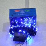 Электрическая гирлянда 100 ЛЕД синяя (5 шт/упак)