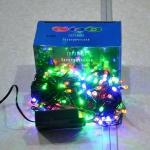 Электрическая гирлянда 100 ЛЕД цветная (5 шт/упак)