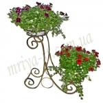 Подставка под цветы Сани 2 Квадрат
