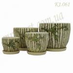 Набор керамических горшков К1.061 (1 шт/упак)