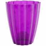 Кашпо для орхидей Ромашка фиолетовый (15шт/упак) оптом
