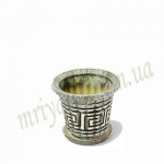 Горшок керамический БАМБУК_0.5 (4 шт/упак.) оптом