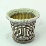 Горшок керамический БАМБУК_2.2  (1 шт/упак.) оптом