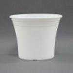 Горшок для цветов ирис 15 белый (10 шт/упак.) оптом