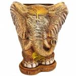 горшок для цветов  р089 слон большой