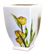 Горшок для цветов  Р094 Горщ. конусний чотирикут.   ІV (1 шт/упак)