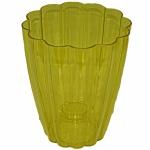 Кашпо для орхидей Ромашка желтый (15 шт/упак)