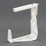 Крепление балконное Ф белый (10 шт/упак)