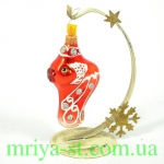 Новогодняя игрушка А 35 золотая рыбка (10 шт/упак) оптом