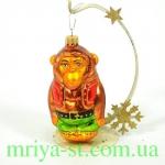 Новогодняя игрушка А 155 Горила (10 шт/упак)