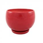 Горшок для цветов  Р010 Куля мала красная (6 шт/упак)