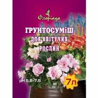 земля для цветущих растений
